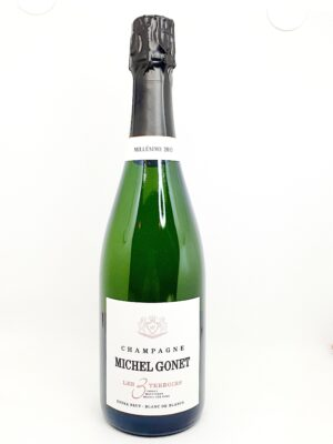 20210124 125218 300x400 - Michel Gonet, Extra Brut Blanc de Blancs 'Les 3 Terroirs' 2013 Champagne