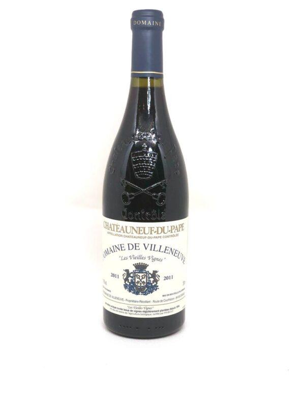 IMG 20201107 WA0012 600x800 - Châteauneuf-du-Pape 'Les Vieilles Vignes', Domaine de Villeneuve 2011 Biodynamic